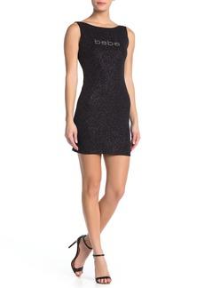 bebe Sleeveless Short Dress