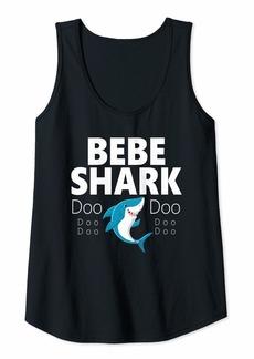 Womens Bebe Shark Doo Doo Gift Tank Top