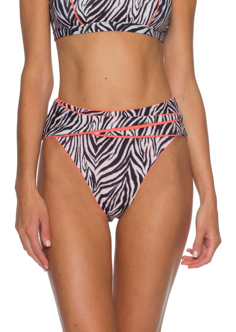 Becca Animal Kingdom High Waist Bikini Bottoms