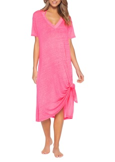 Becca Beach Date Cover-Up T-Shirt Dress