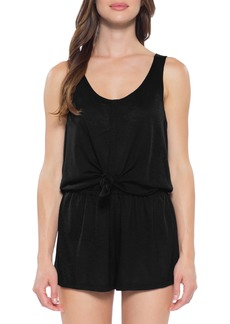Becca Breezy Basics Knot Cover-Up Romper