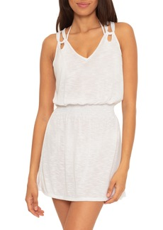 Becca Breezy Basics Slub Jersey Cover-Up Dress