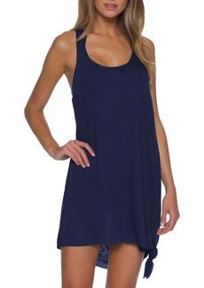 Becca Breezy Knot Hem Twist Back Cover-Up Dress