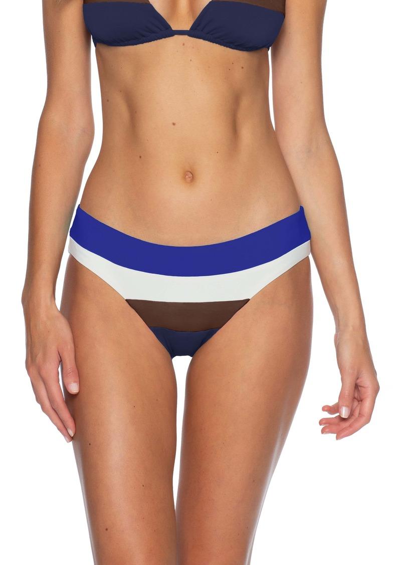Becca Circuit Colorblock Bikini Bottoms