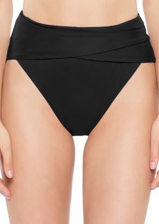 Becca Color Code Crossover High Waist Bikini Bottoms