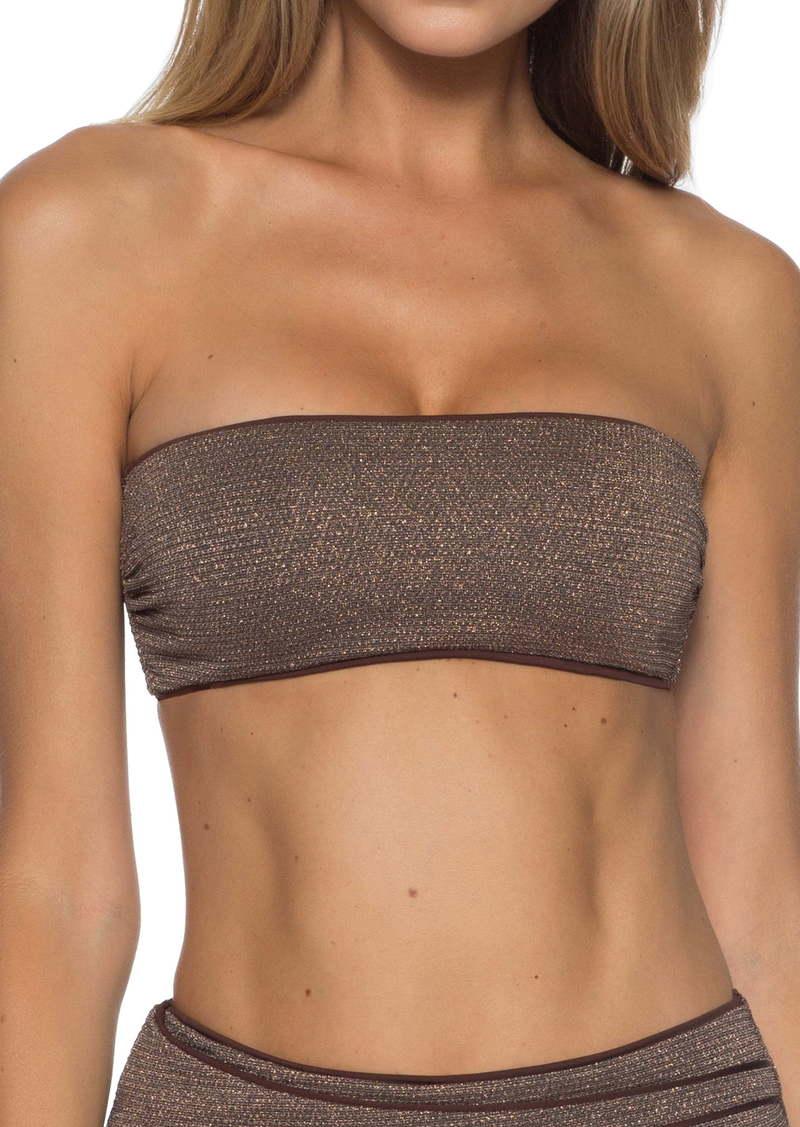 Becca Disco Bandeau Bikini Top