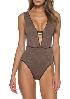 Becca Disco One-Piece Swimsuit