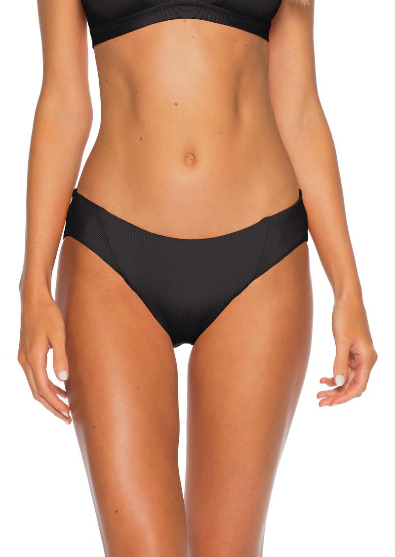 Becca Fine Line Ribbed Bikini Bottoms