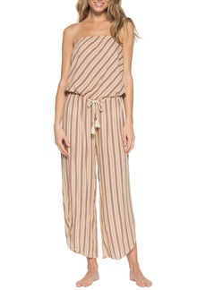 Becca South Hampton Strapless Cover-Up Jumpsuit