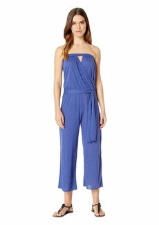 Becca Breezy Basics Cropped Jumpsuit Cover-Up