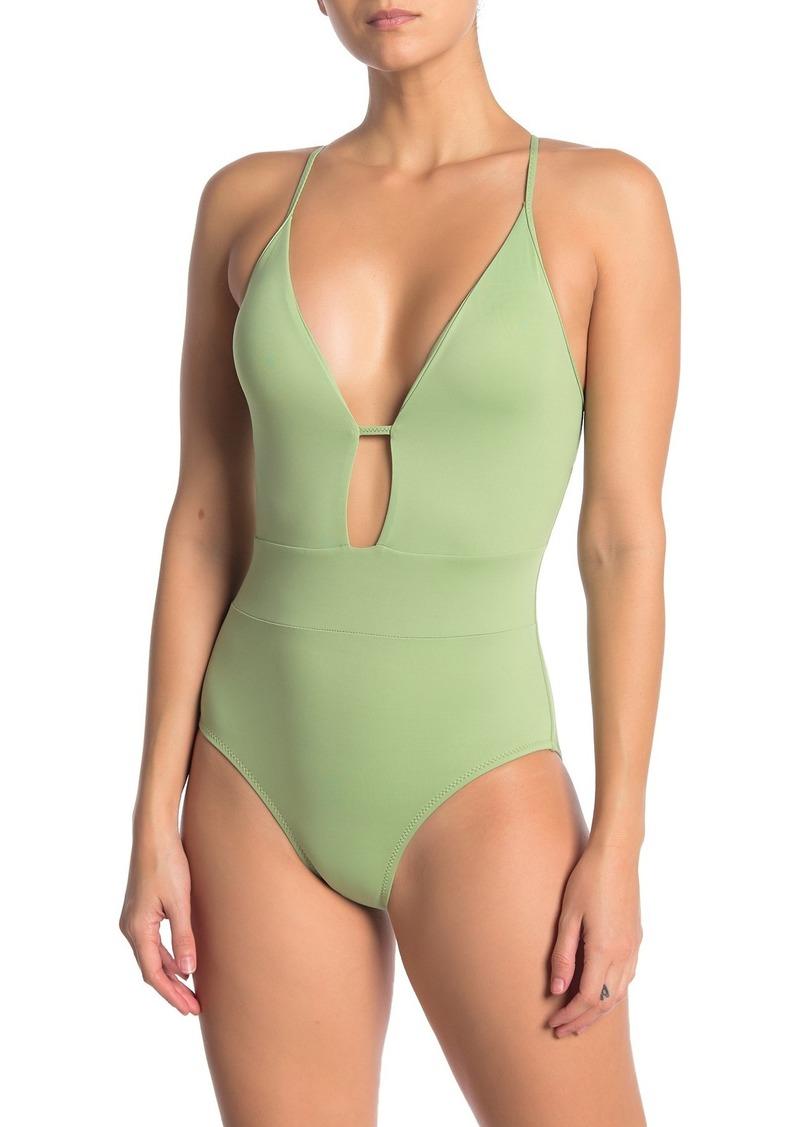 Becca Plunge One-Piece Swimsuit