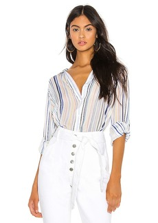 Bella Dahl Capri Button Down
