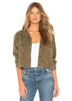 Bella Dahl Crop Military Jacket
