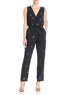 Bella Dahl Crossover Star Print Jumpsuit