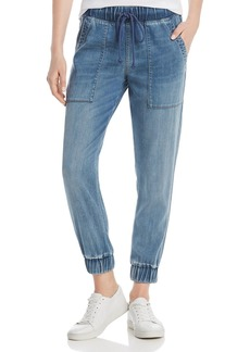 Bella Dahl Denim Pocket Jogger Pants
