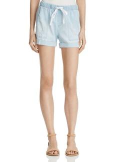 Bella Dahl Distressed Chambray Shorts