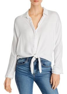Bella Dahl Dolman-Sleeve Tie-Front Shirt