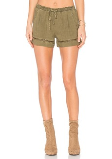 Bella Dahl Eyelet Short in Army. - size M (also in S,XS)