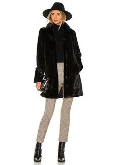 Bella Dahl Faux Fur Midi Coat
