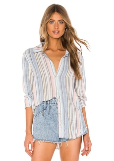 Bella Dahl Fray Hem Button Down
