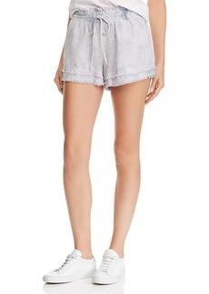 Bella Dahl Frayed Tie-Dye Shorts