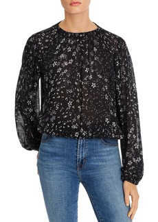 Bella Dahl Gathered Floral Top