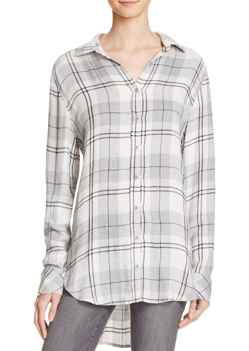 Bella dahl bella dahl hallie plaid shirt casual shirts for Bella dahl plaid shirt