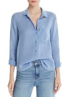 Bella Dahl Linen Button-Down Top