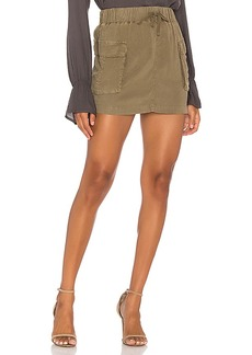 Bella Dahl Patch Pocket Mini Skirt