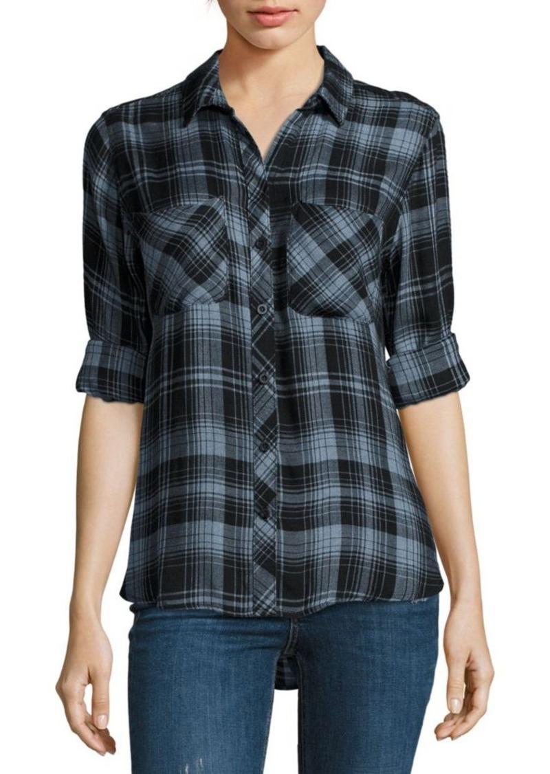 On sale today bella dahl bella dahl plaid button down top for Bella dahl plaid shirt