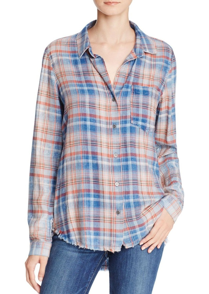 bella dahl bella dahl plaid shirt now shop it to me