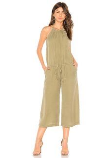 Bella Dahl Pleated Crop Jumpsuit
