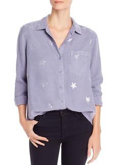 Bella Dahl Pocket Star Print Shirt