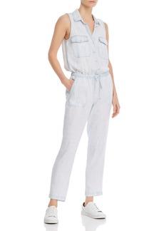 Bella Dahl Sleeveless Button Front Jumpsuit