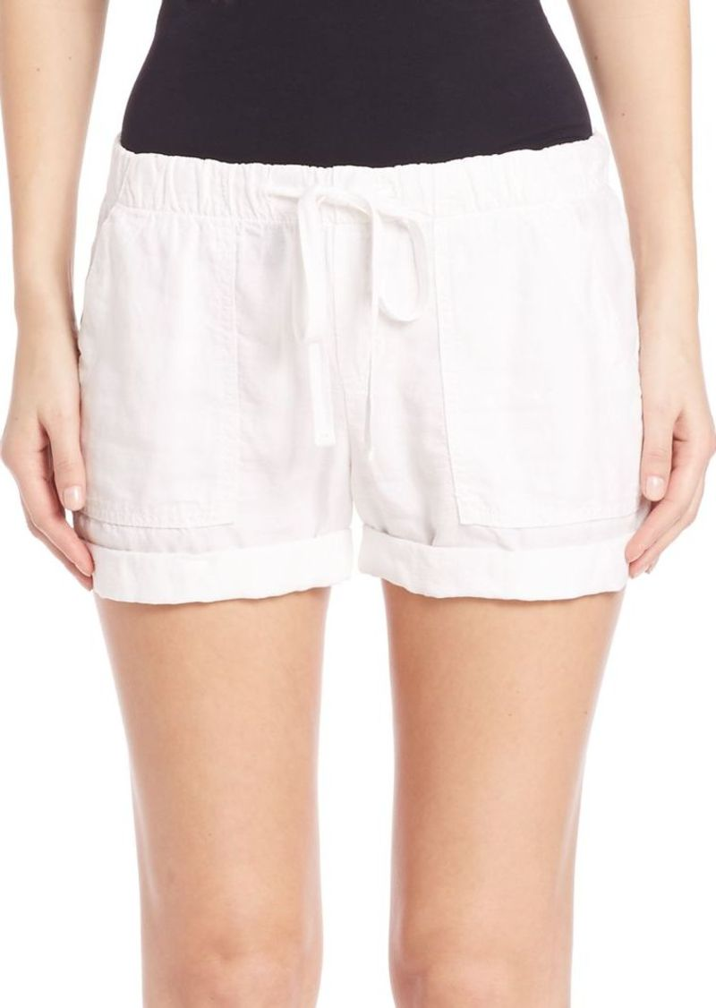 Bella Dahl Solid Drawstring Shorts