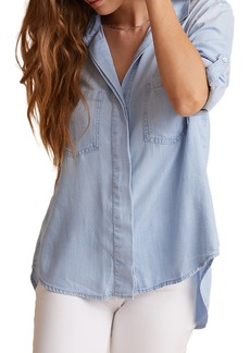 Bella Dahl Split Back Button-Up Shirt