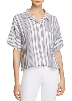 Bella Dahl Stripe Camp Shirt