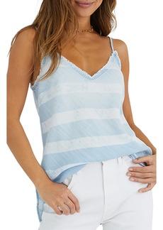 Bella Dahl Stripe Frayed Camisole
