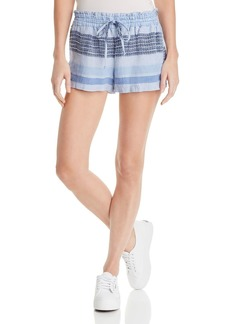 Bella Dahl Striped Drawstring Woven Shorts