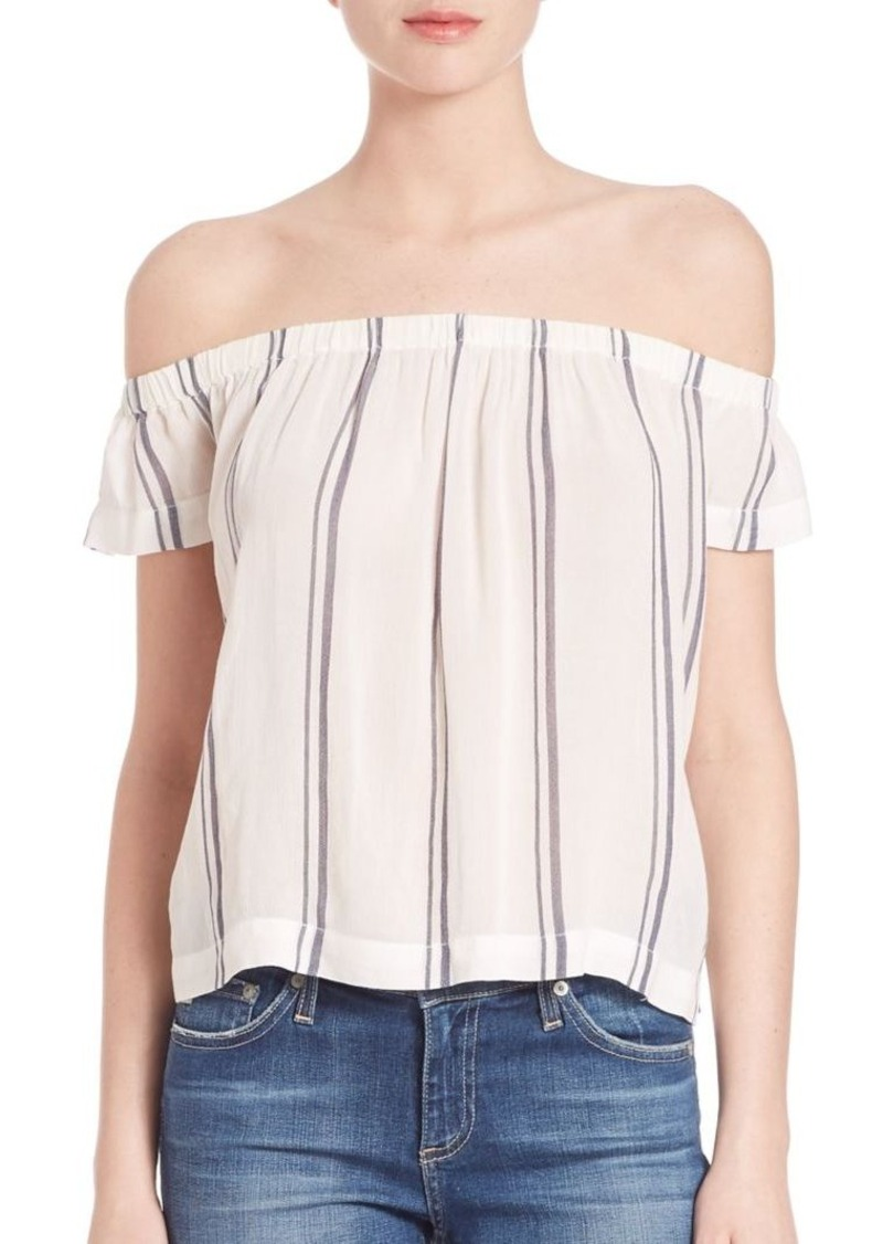 Bella Dahl Striped Off-The-Shoulder Top