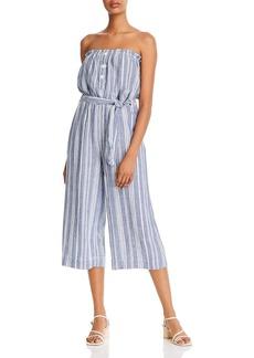 Bella Dahl Striped Strapless Jumpsuit