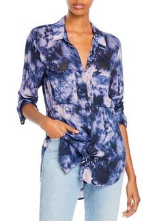 Bella Dahl Tie Dyed Button Up Shirt