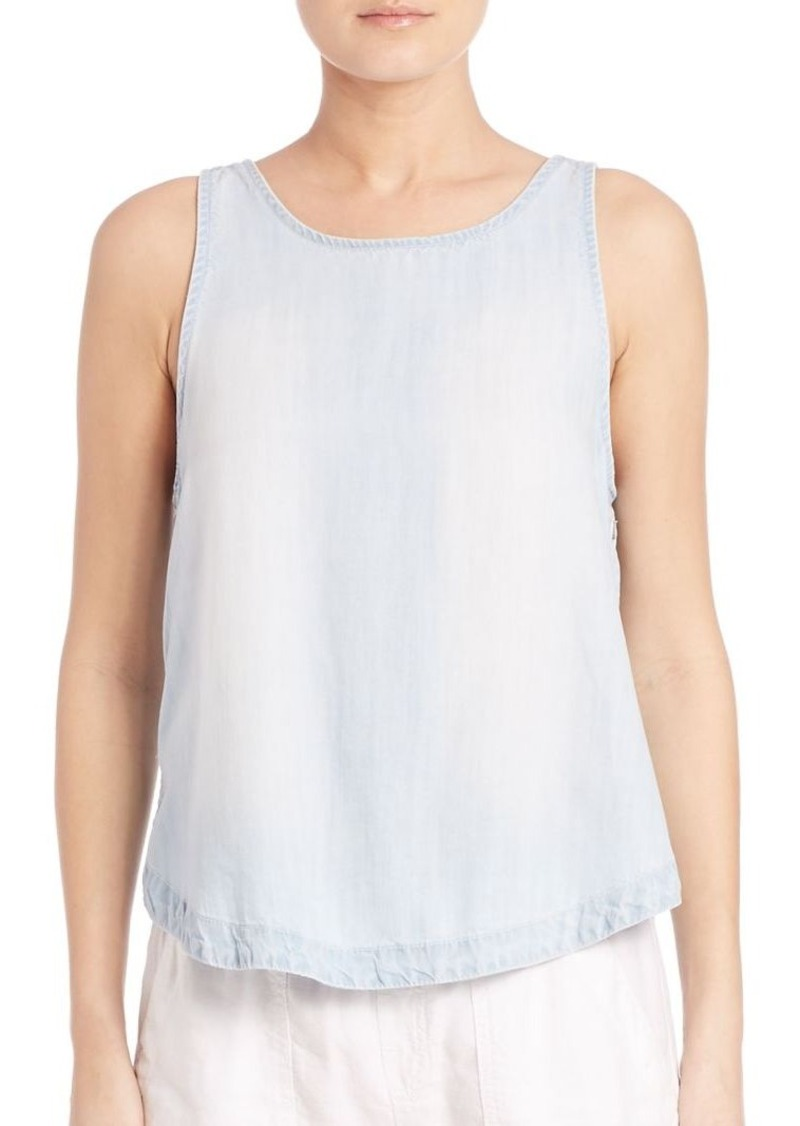 Bella Dahl Washed Button Side Tank
