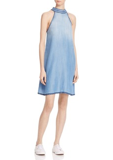 Bella Dahl Whipstitched Chambray Dress