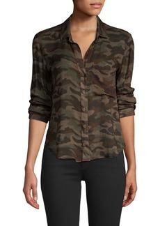 Bella Dahl CamoPocket Shirt