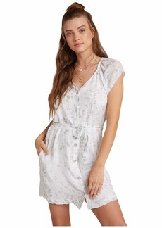 Bella Dahl Elastic Neck Raglan Dress