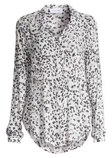 Bella Dahl Leopard Print Hipster Shirt