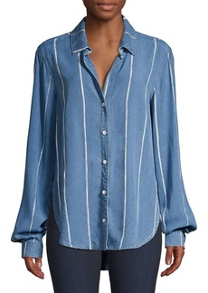 Bella Dahl Painted Stripe Shirt