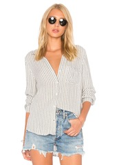 Bella Dahl Pocket Button Down Top
