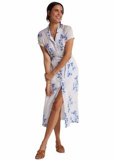 Bella Dahl Short Sleeve Belted Shirtdress